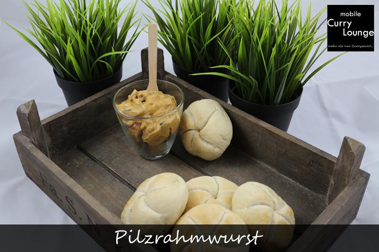 Pilzrahmwurst