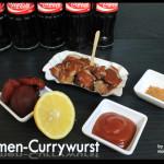 Cola- Pflaumen Currywurst