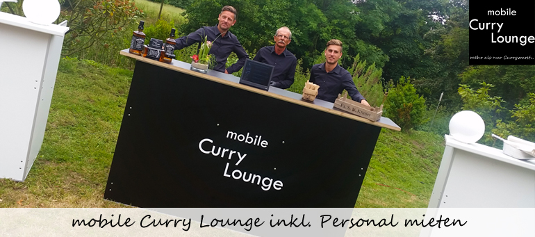 mobile Curry Lounge inkl. Personal mieten