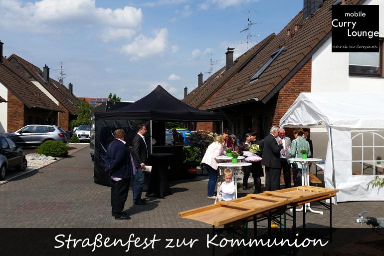 Einsatzgebiet - Straßenfest zur Kommunion