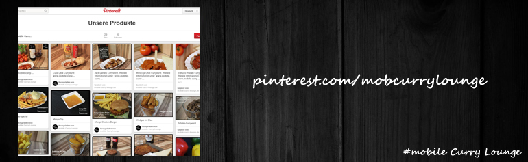 mobile Curry Lounge bei Pinterest