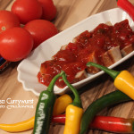 Mexican-Salsa Currywurst