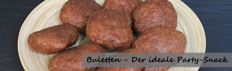 Buletten-Partysnack