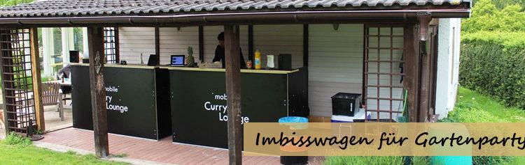Imbisswagen Gartenparty