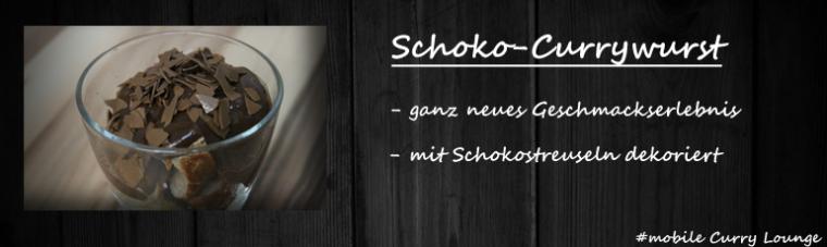 Schoko Currywurst