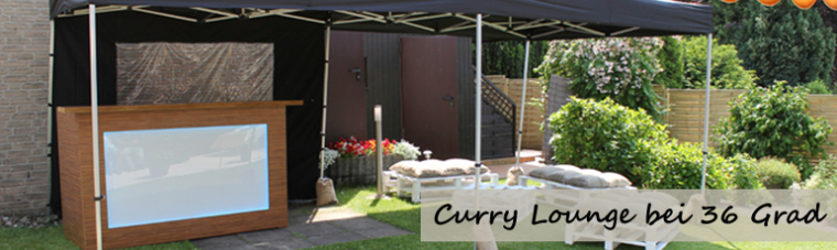Curry Lounge bei 36 Grad
