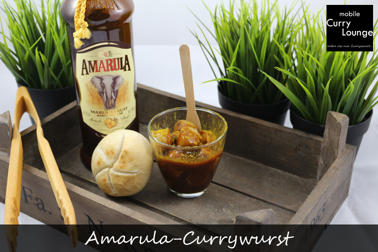 Südafrikanische Amarula-Currywurst