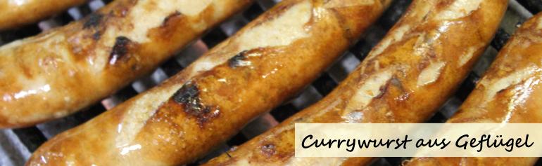 Geflügel Currywurst