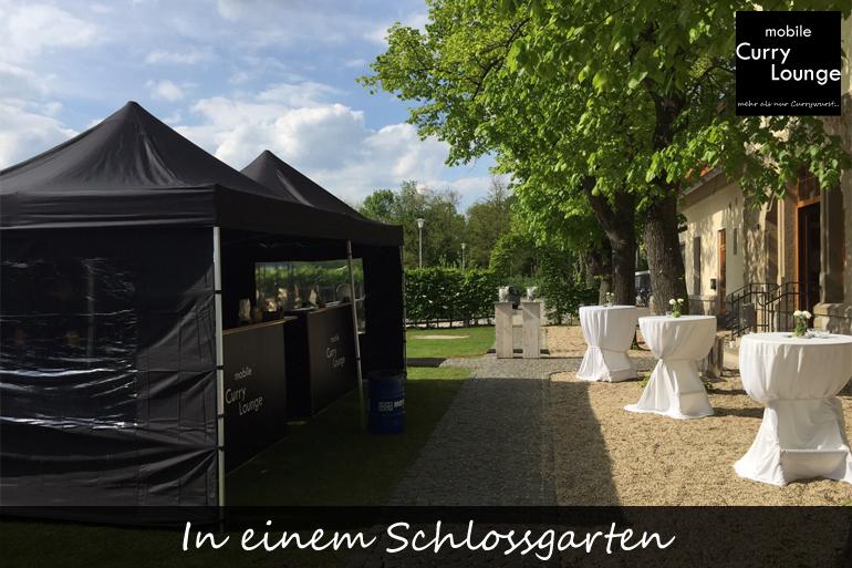 Einsatzbereich - In einem Schlossgarten
