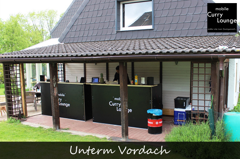 Einsatzbereich - Unterm Vordach
