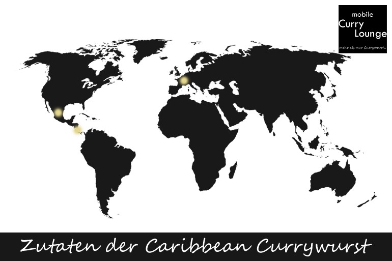 Zutaten - Caribbean Currywurst