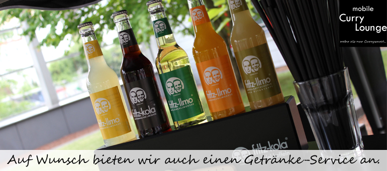 Auf Wunsch bieten wir auch einen Getränke-Service an.