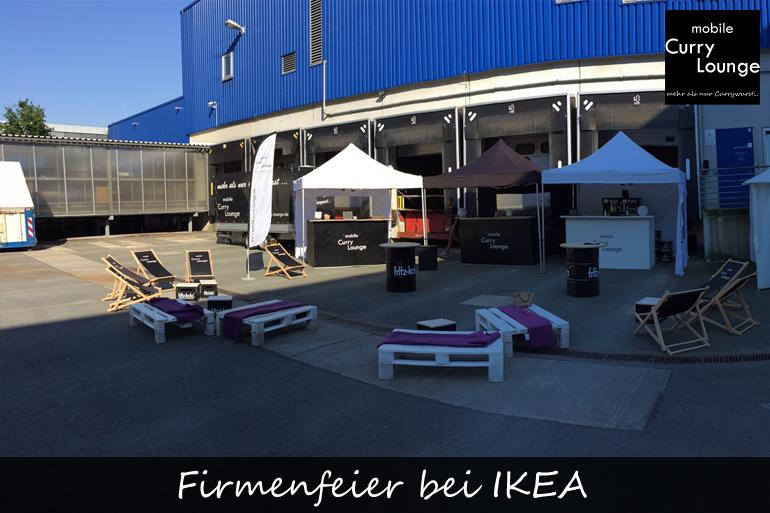 Firmenfeier bei IKEA