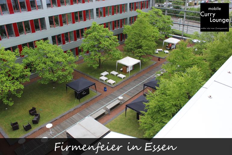 Firmenfeier in Essen