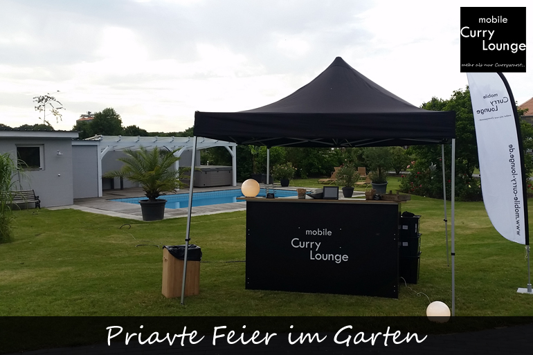 Priavte Feier im Garten-1
