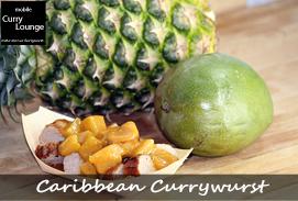 klassische Currywurst