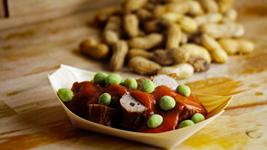 Vorschaubild Erdnuss-Wasabi Currywurst